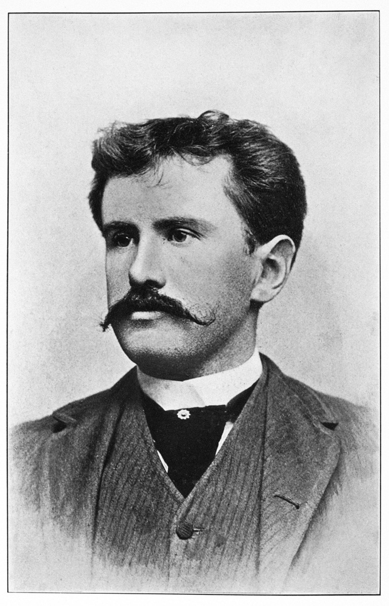 William Sydney Porter (1862-1910). Pseudonym, O. Henry. American Short-Story Writer. Photograph, C1892.