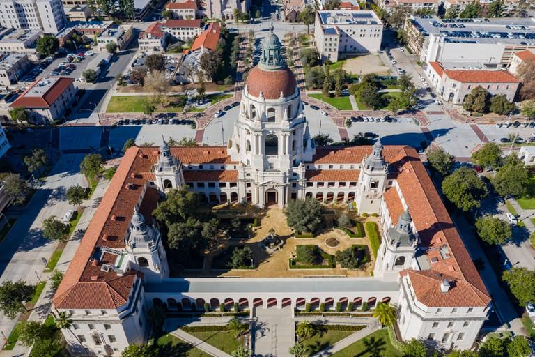 Pasadena City Hall at Los Angeles County, Calfornia