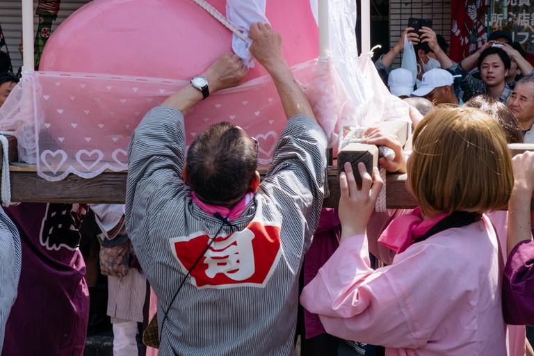 The Kanamara Matsuri is a festival that celebrates sex, fertility and creation of life