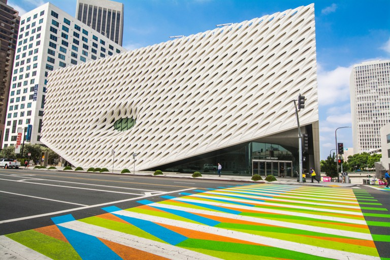 The Broad in downtown LA