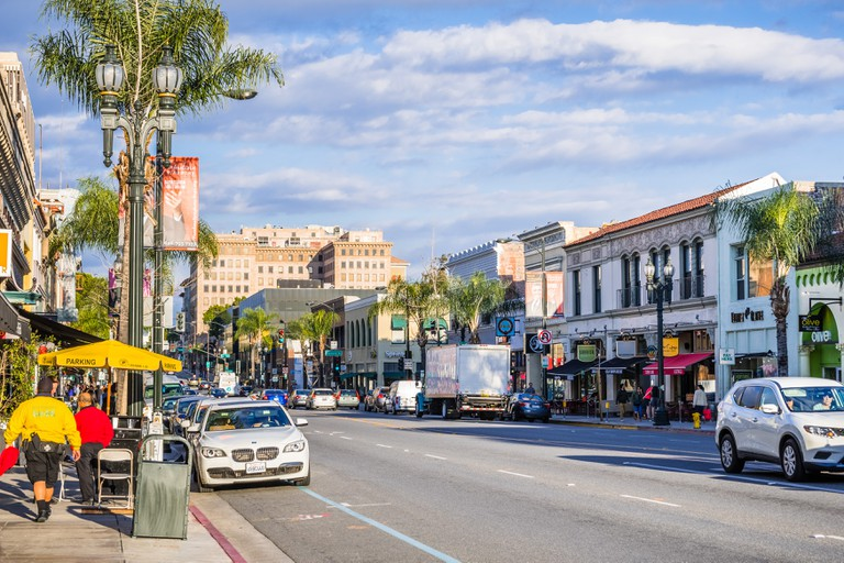 Downtown Pasadena is home to a variety of businesses