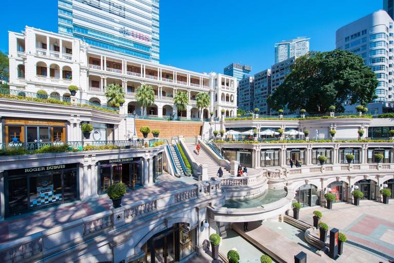 1881 Heritage is a shopping, hotel and landmark destination in Tsim Sha Tsui, Hong Kong