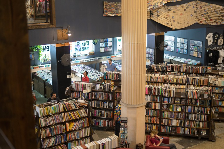 The Last Bookstore, Los Angeles, California.