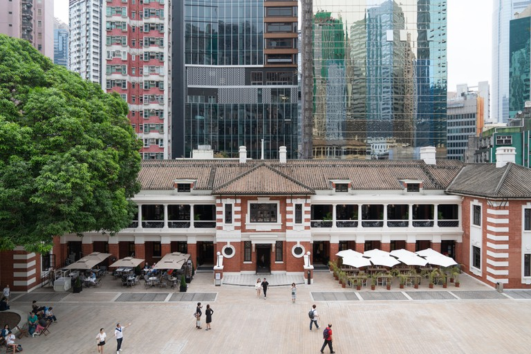 Tai Kwun Centre for Heritage and Arts, the newly revitalised Central Police Station.