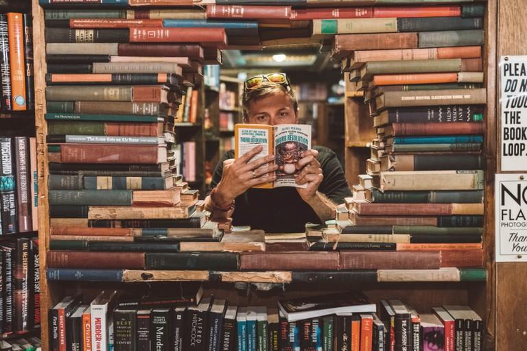 The Last Book Store, LA.