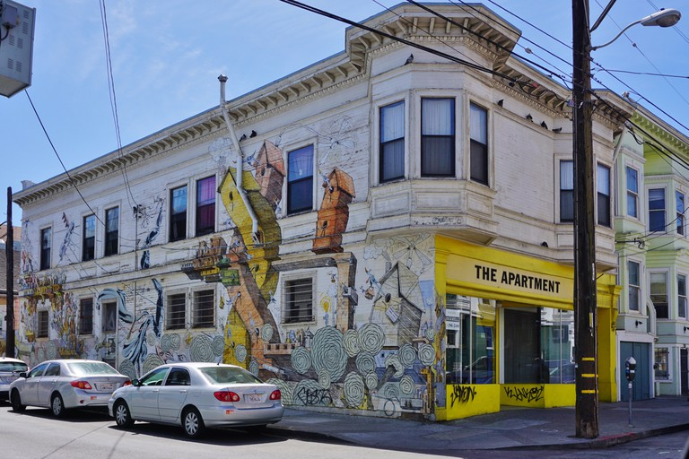 Mission District Murals, San Francisco