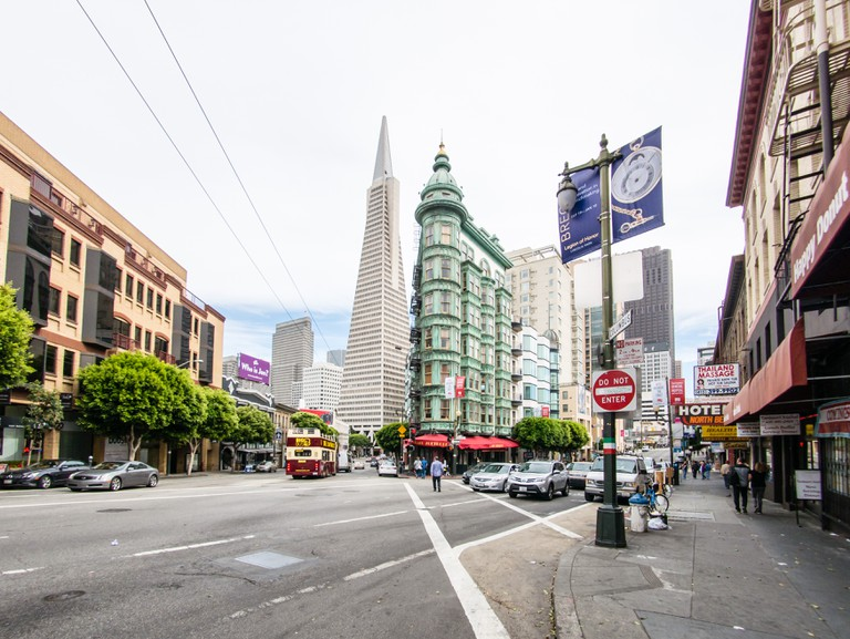 North Beach is home to San Francisco's Little Italy