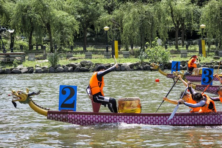 Shanghai Annual Dragon Boat Race Festival