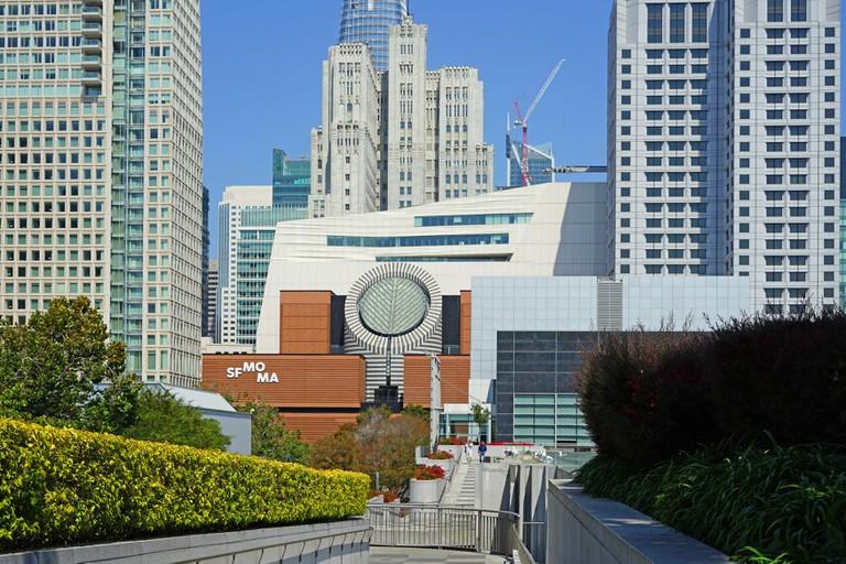 The San Francisco Museum of Modern Art (SFMOMA) is a contemporary art museum located near Yerba Buena Gardens in downtown San Francisco, California.
