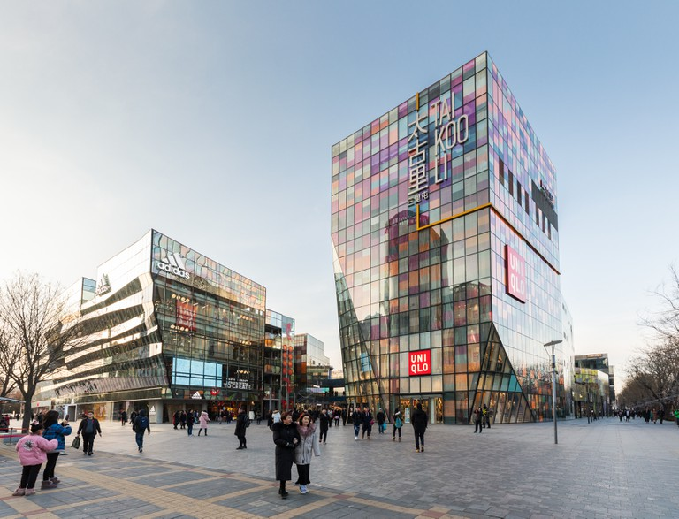 Sanlitun is Beijing's epicentre of upscale nightlife and shopping