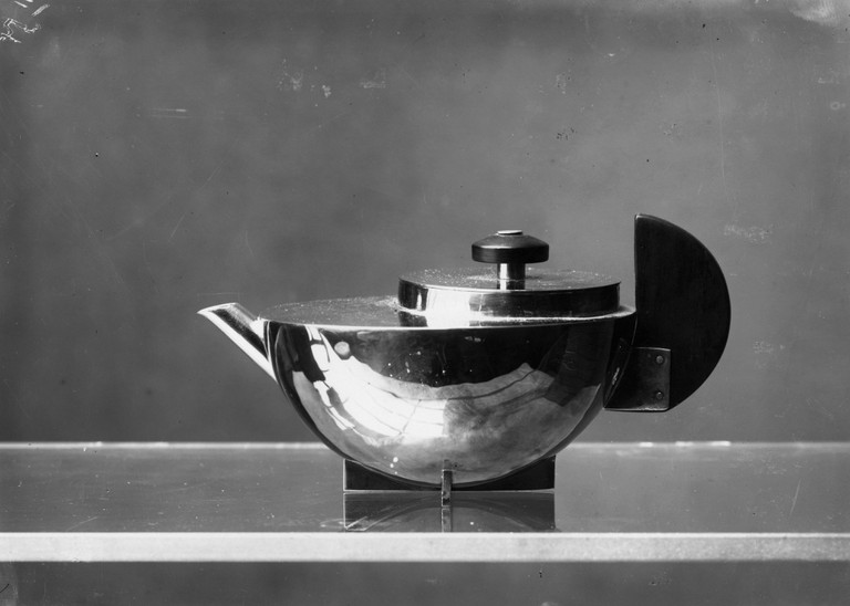 Marianne Brandt, 'Tea Extract Pot', 1924. Photograph by Lucia Moholy