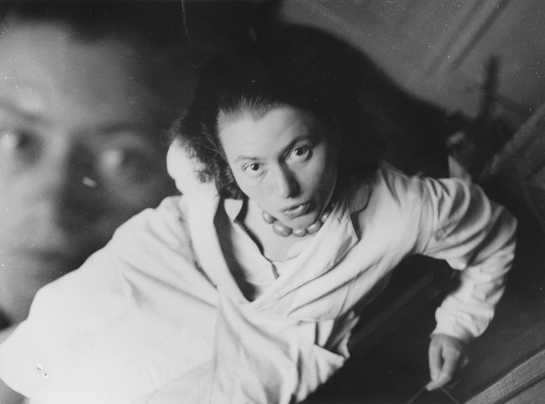 Marianne Brandt, 'Untitled' (double exposed self-portrait), c.1930-32