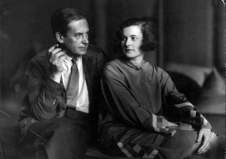 Ise and Walter Gropius, 1929