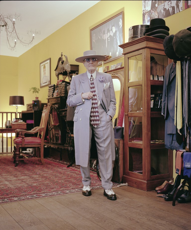 According to Skeggs, tailor Mark Powell once named him the best-dressed man at the Soho Fete