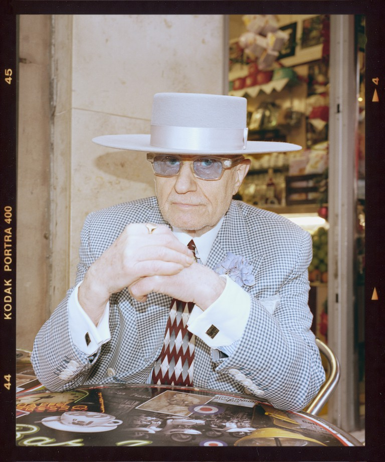 Spend any time in the coffee shops and restaurants of Soho and you're likely to spot the unmistakable figure of George Skeggs