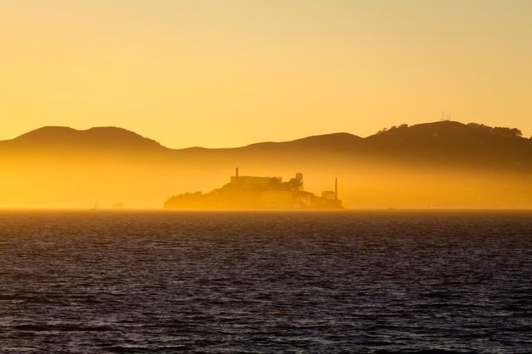 Alcatraz Island, San Francisco Bay, California, USA.