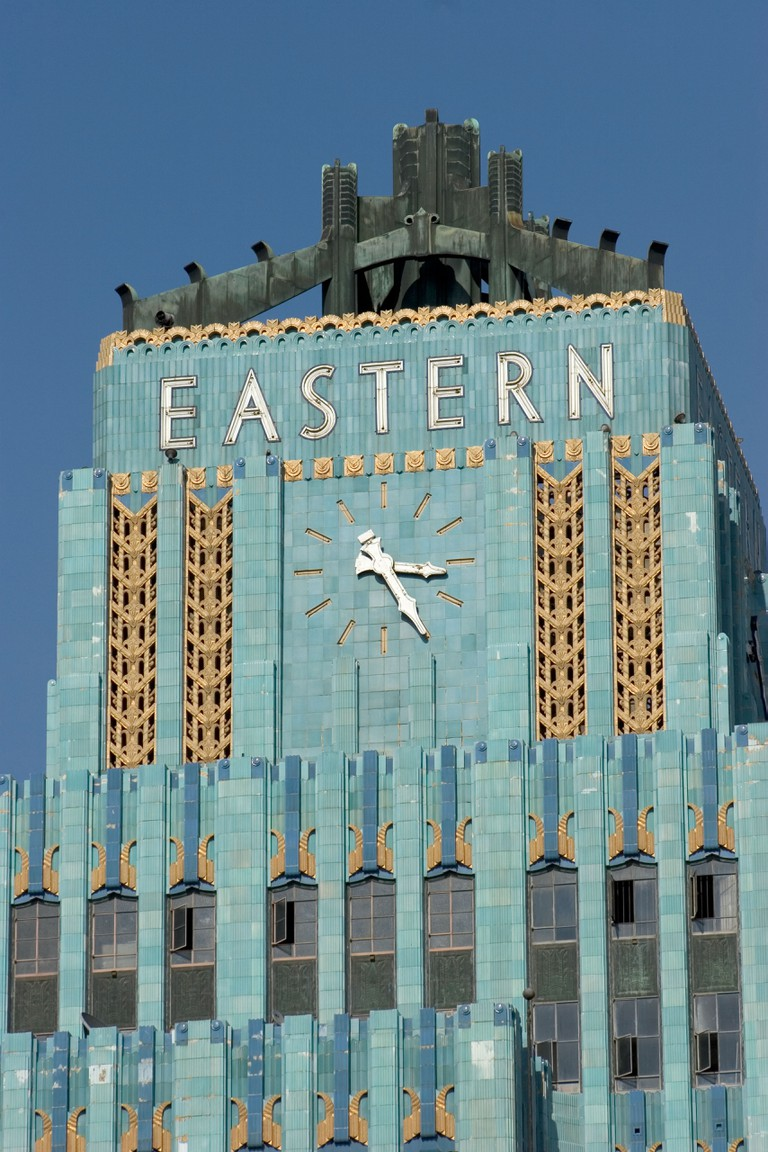 The Eastern Columbia Building Downtown Los Angeles California USA