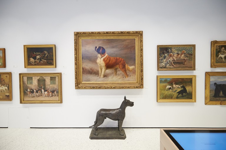 American Kennel Club (AKC) Museum of the Dog in Manhattan, New York, USA.