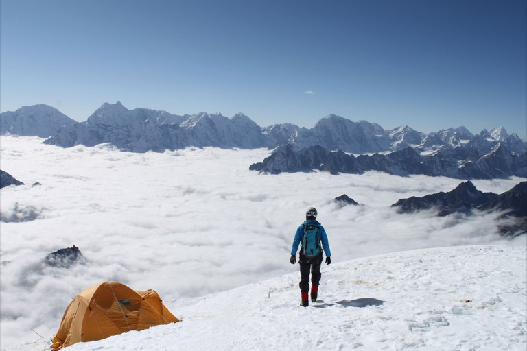 Norris has tested herself in the most extreme environments on earth