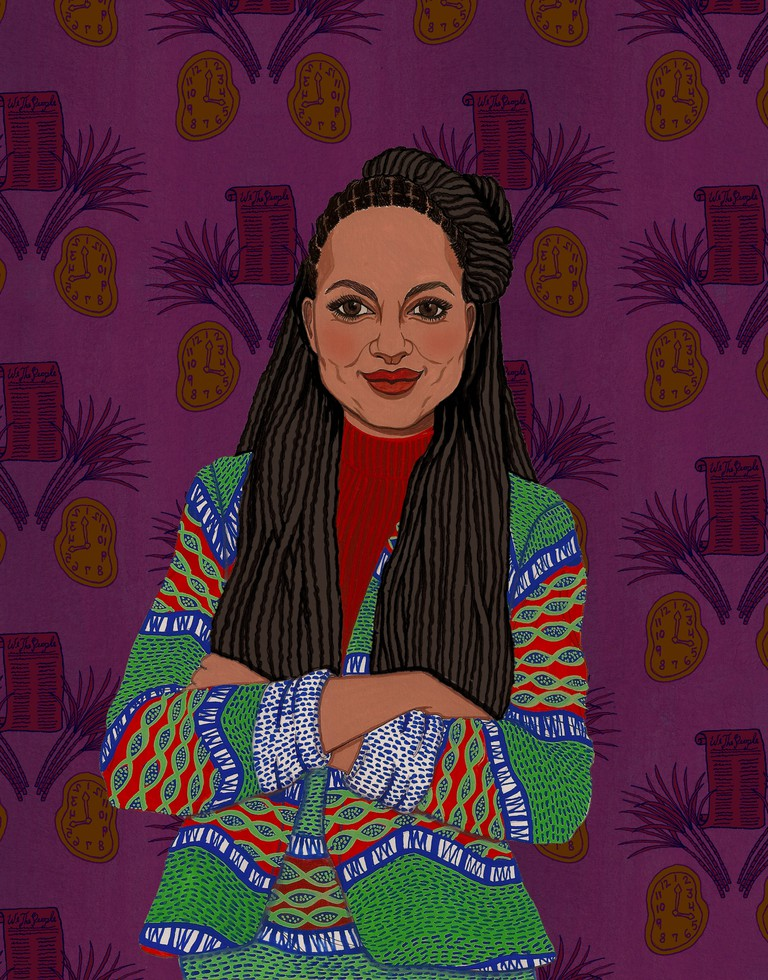 """Writer, director, producer, and film marketer and distributor Ava DuVernay. Reprinted from """"Renegade Women in Film & TV"""""""