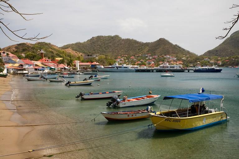 Les Saintes, Iles des Saintes, Guadeloupe, French Antilles, Caribbean.