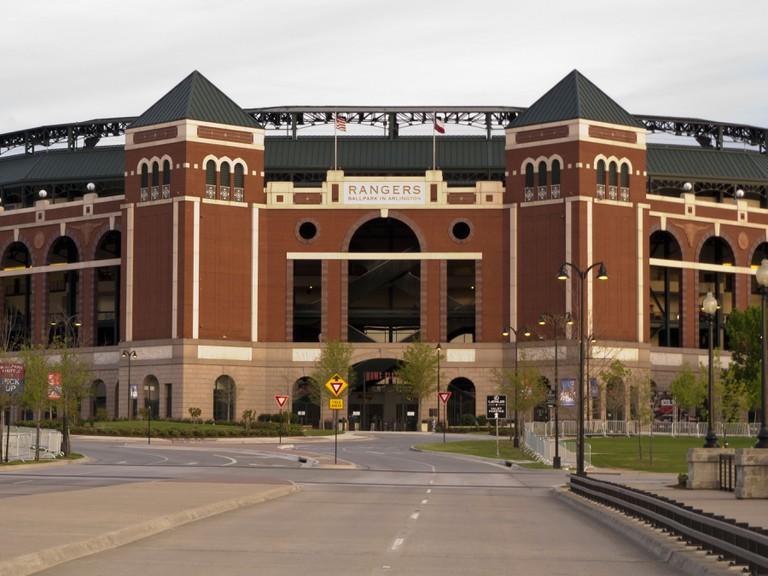 Rangers Ballpark in Arlington, Texas