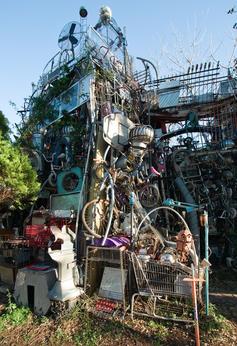 Cathedral of Junk in Austin, Texas.