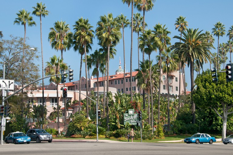 California Hollywood The Beverly Hills Hotel is a luxury, five-star hotel,