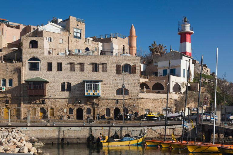 Jaffa Old Port, Tel Aviv.