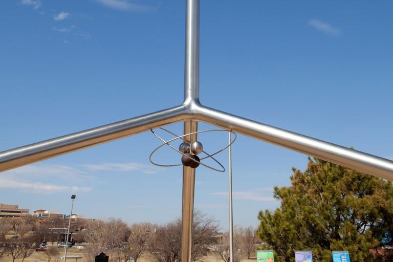 Helium monument sundial, Amarillo, Texas.