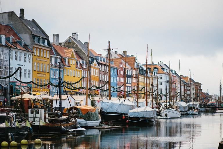Inner City-Copenhagen-Denmark