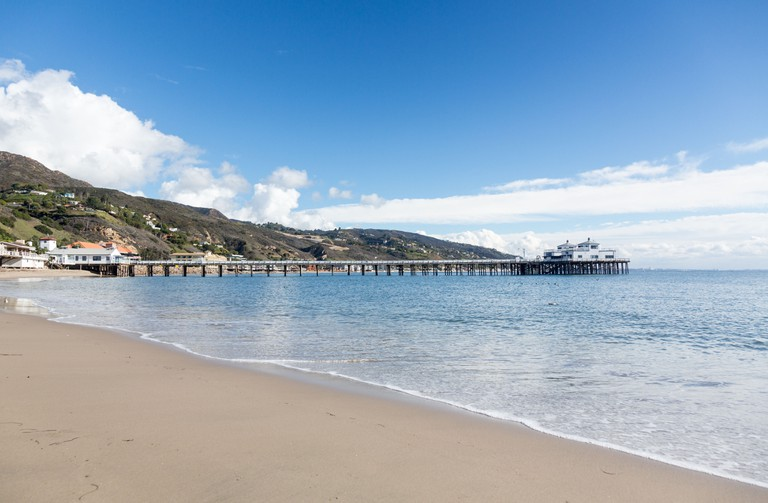 Malibu pier, California.