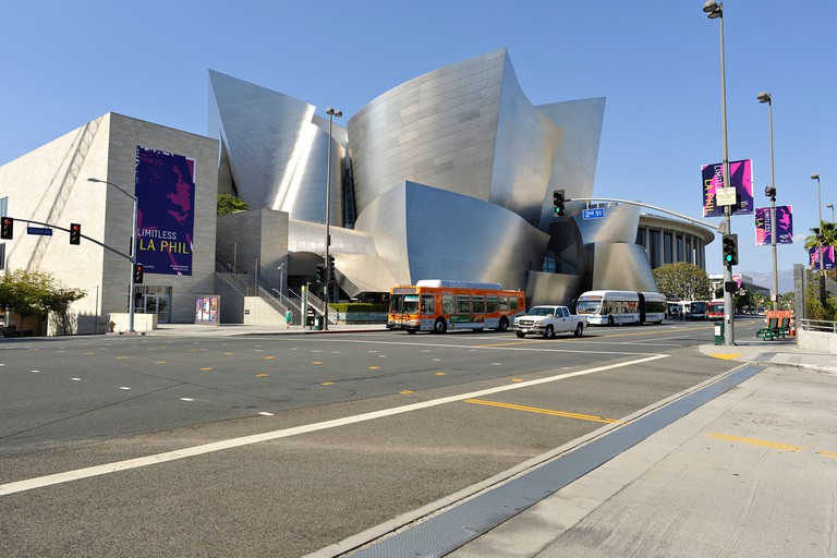 Walt Disney Concert Hall building, Los Angeles, California