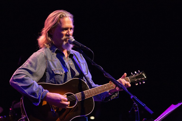 Jeff Bridges & the Abiders performing at the El Rey Theater in Los Angeles, CA, USA