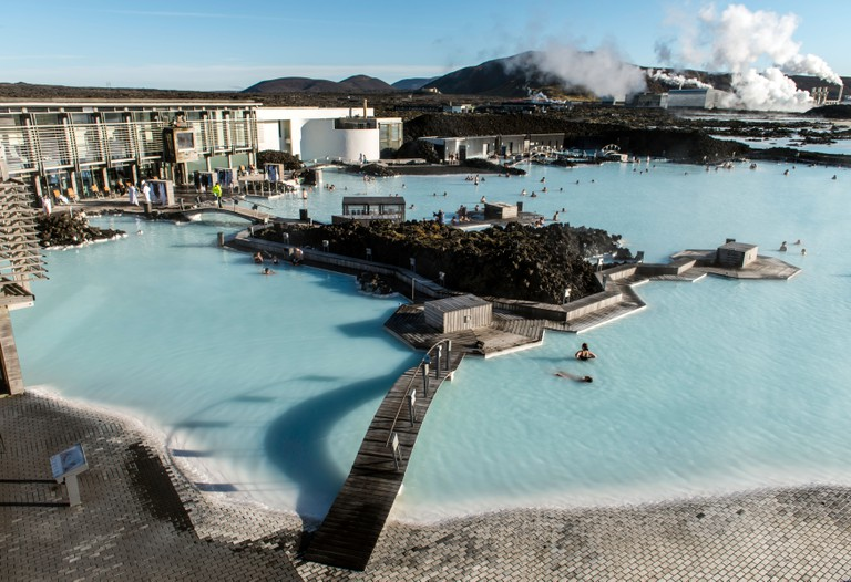 Blue Lagoon, Reykjavik, Iceland.