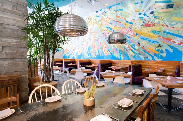 La Condesa Restaurant in Austin, Texas.