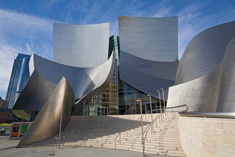 Walt Disney Concert Hall by Frank Gehry, Downtown Los Angeles.