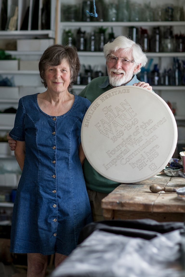 Sue and Frank Ashworth