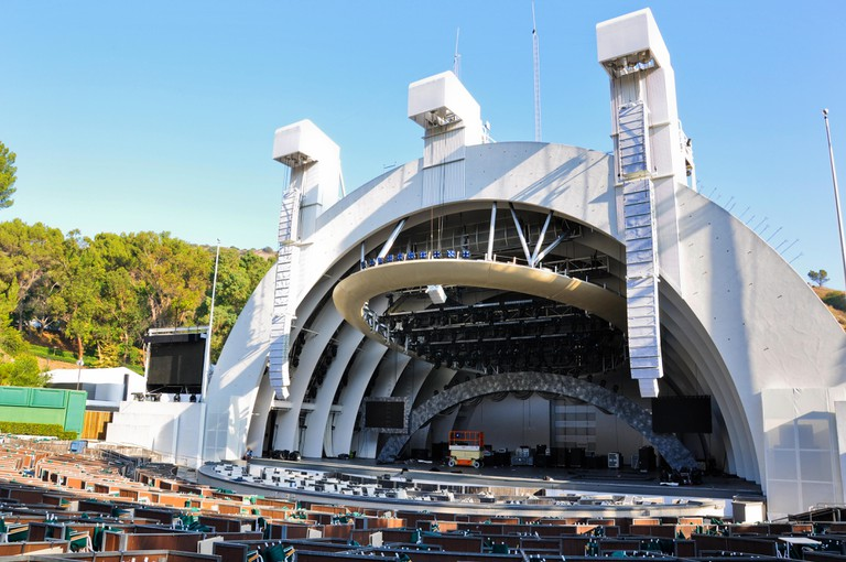 The Hollywood Bowl in Los Angeles, California.