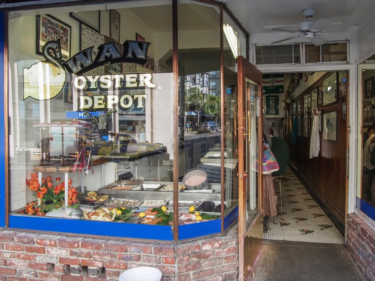 Swan Oyster Depot in San Francisco