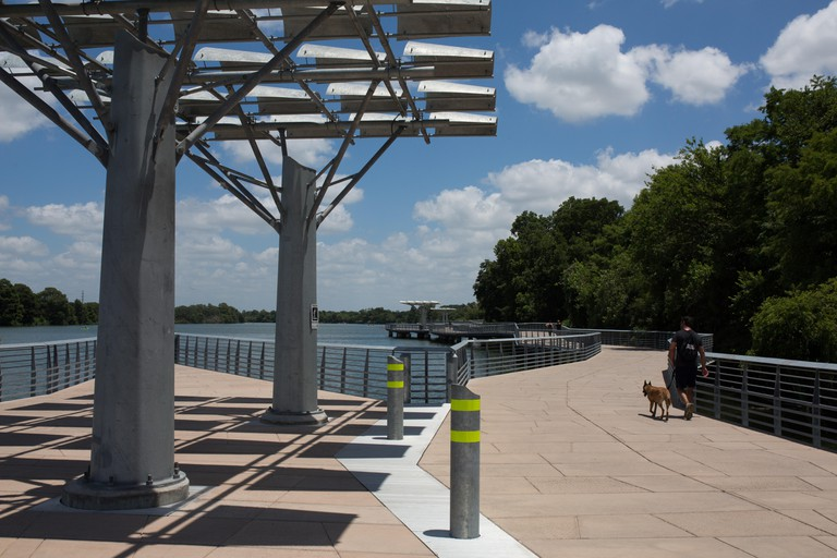 The Boardwalk Trail at Lady Bird Lake in Austin, Texas