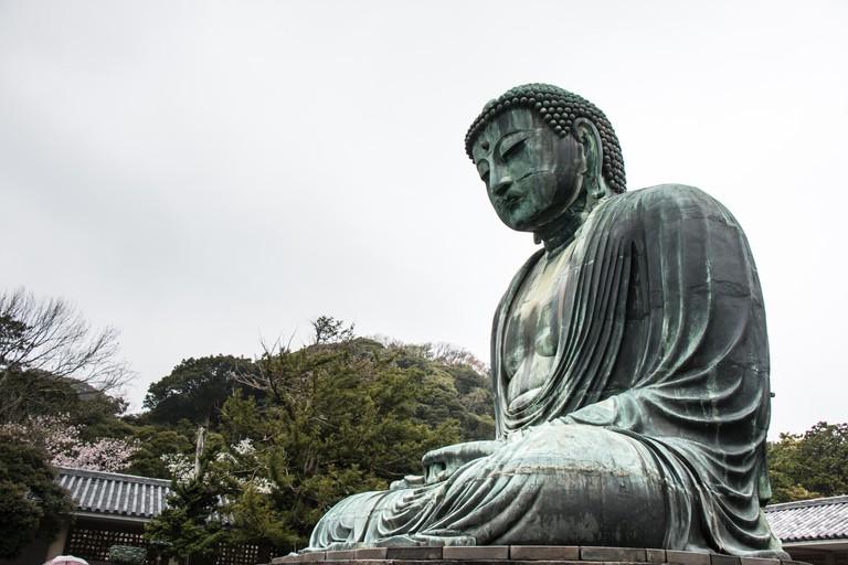 Buddha of Kamakura, Kotokuin Temple, Kamakura, Kanagawa, Japan