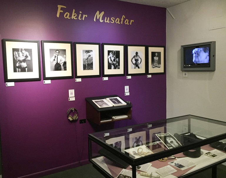 Fakir Musafar Exhibition at Leather Archives and Museum, Chicago, USA.
