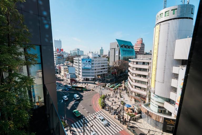 Omotesando district, Tokyo.