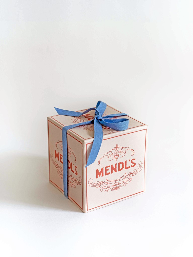 Annie Atkins's Mendl's boxes for The Grand Budapest Hotel