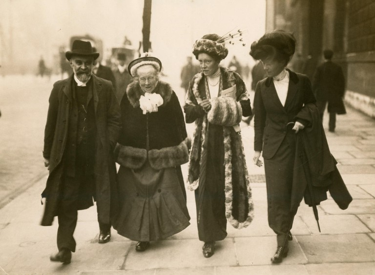 Elizabeth and Louisa Garrett Anderson c.1910.