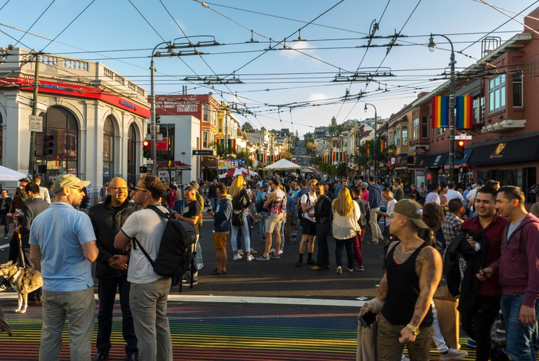 Castro Street Fair, San Francisco, California, USA.