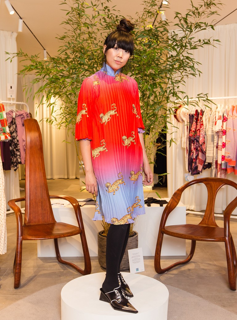 Susie Lau at the launch of her Bicester Village pop-up store