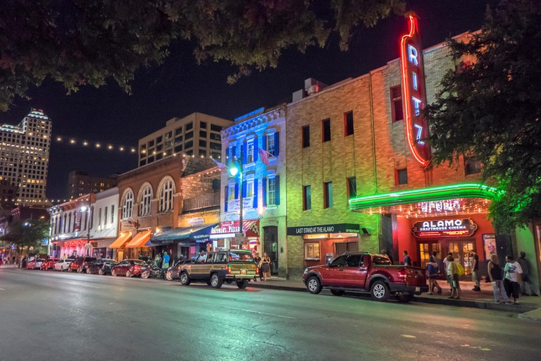 6th street, Austin, Texas, USA.