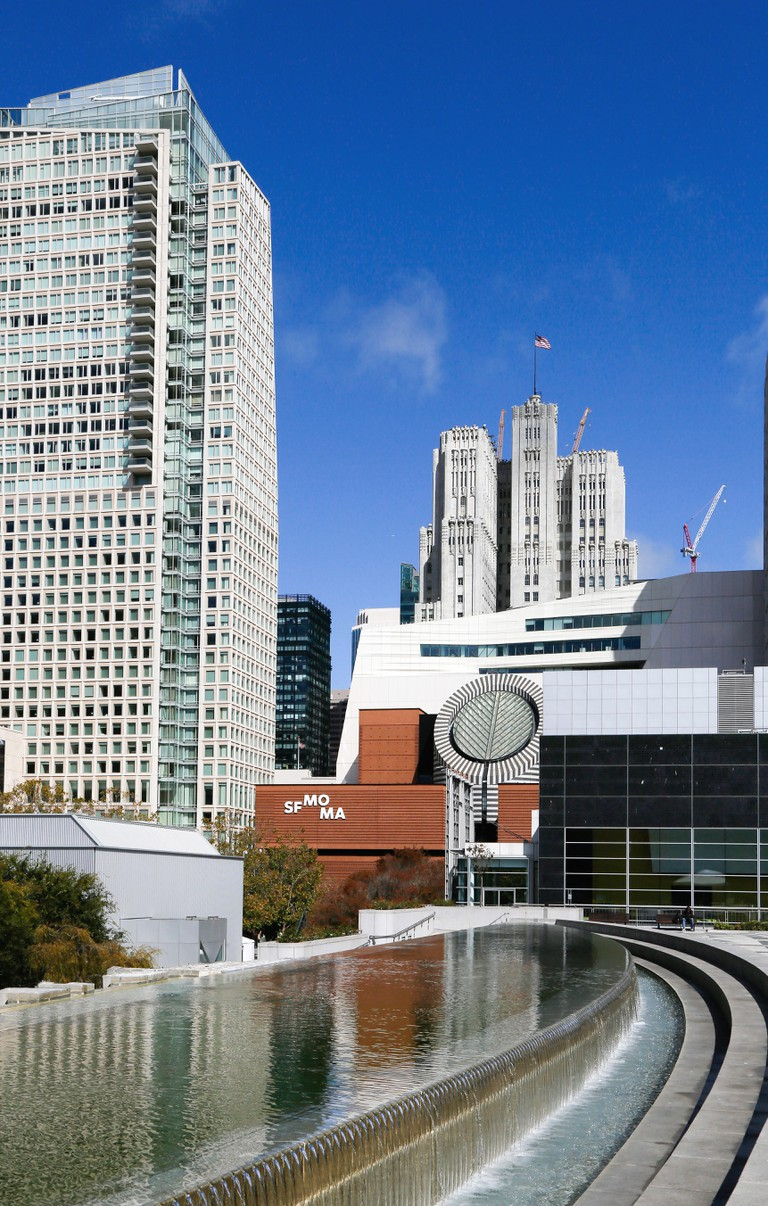 The SFMOMA museum in downtown San Francisco.
